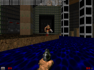"Seriously, it's almost mandatory that at least one of these is included in each ""Doom II"" WAD :)"