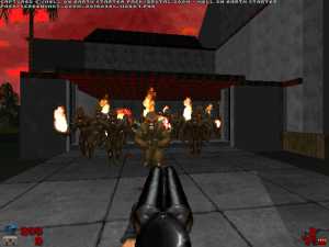 "If THIS looks like a ""difficult"" part of the game, then you need more ""Doom"" practice before playing these levels!"