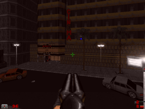 Woo hoo! Two of the best FPS games of the 1990s! In ONE game!