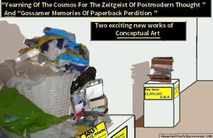 """Yearning Of The Cosmos For The Zeitgeist Of Postmodern Thought "" and ""Gossamer Memories Of Paperback Perdition"" By C. A. Brown"