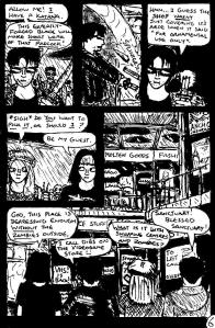 """""""Zombies Again! - Page 6"""" By C. A. Brown"""