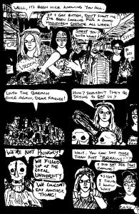 """""""Zombies Again! - Page 9"""" By C. A. Brown"""