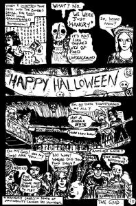 """""""Zombies Again! - Page 10"""" By C. A. Brown"""