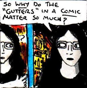 2016 Artwork Comics Gutters Article Sketch