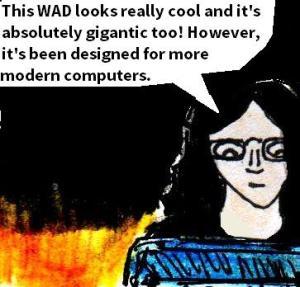 2016 Artwork Pinnacle Of Darkness WAD review sketch