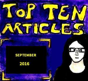 2016 Artwork Top Ten Articles September