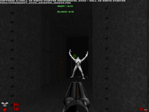 "It is pretty much compulsory for ""Doom II"" WADs to include at least one of these, this level contains three :)"