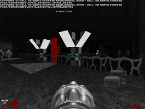 "Yay! I wish more rooms in ""Doom II"" looked like this!"