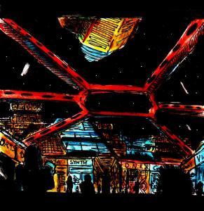 """Cyberpunk Centre"" By C. A. Brown"