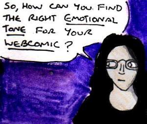 2016 Artwork Emotional tone in webcomics article