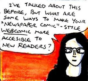 2016 Artwork Make webcomics more accessible to new readers
