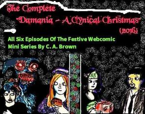 2016 Artwork The Complete Damania Cynical Christmas 2016