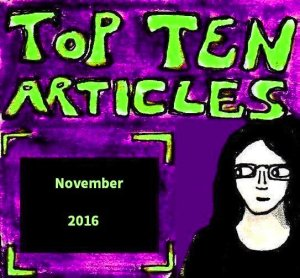 2016 Artwork Top Ten Articles November