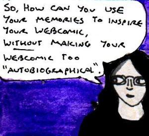 2016 Artwork Webcomic memories inspiration