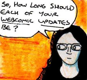 2016 Artwork Webcomic panel length article sketch