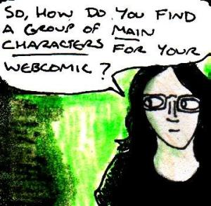 2016 Artwork Webcomics Main Characters Article Sketch