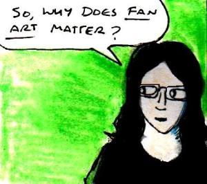2016 Artwork Why fan art matters