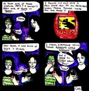 """[CLICK FOR LARGER IMAGE] """"Damania Resolute - Virtual Pets"""" By C. A. Brown"""