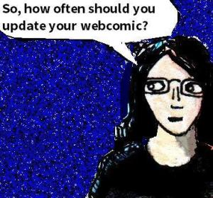 2016 Artwork How often should you update your webcomic