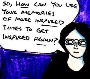 2016 Artwork Memories of inspiration article sketch