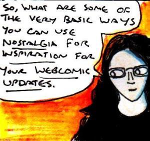 2016 Artwork nostalgia webcomics article sketch