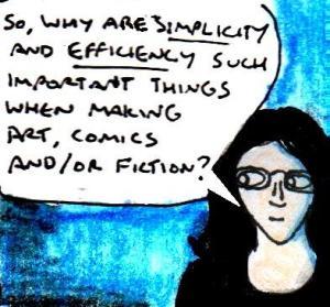 2016 Artwork Simplicity and efficiency article sketch