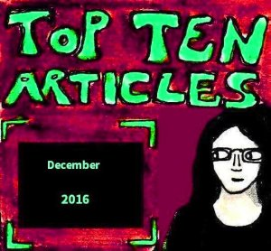 2016 Artwork Top Ten Articles December