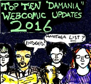 2016 ArtworkTop Ten Damania Comics