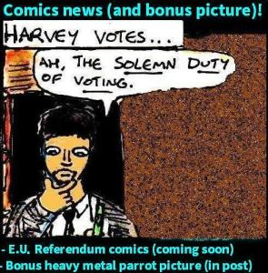 2016 Comics news 8th June