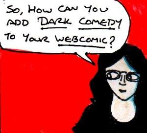 2017 Artwork Dark Comedy In Webcomics article sketch