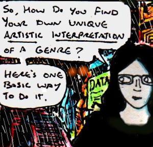 2017 Artwork Find Your Artistic Interpretation Of A Genre