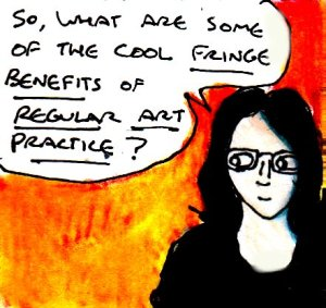2017 Artwork Fringe Benefits Of Regular Art Practice article