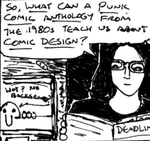 2017 Artwork Punk Comic Design Article sketch
