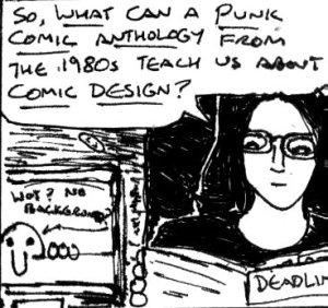 2017 Artwork Punk Comic Design Article sketch
