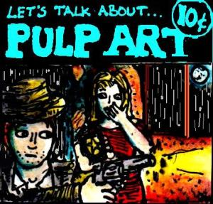 2017 Artwork The Joy Of... Pulp Art article sketch