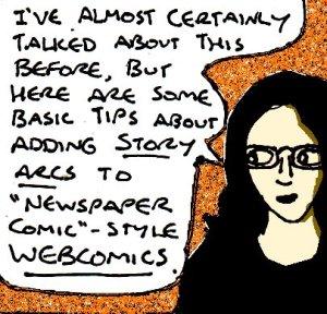 2017 Artwork Webcomic story arcs article sketch