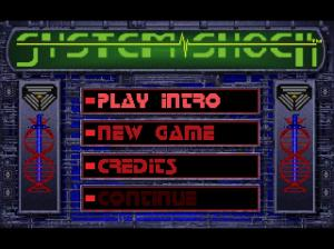 System Shock title screen