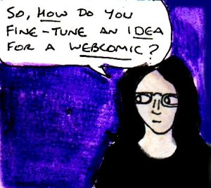 2017 Artwork fine tuning webcomic ideas