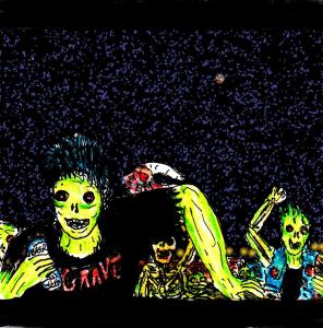 """Zombie Mosh Pit"" By C. A. Brown"