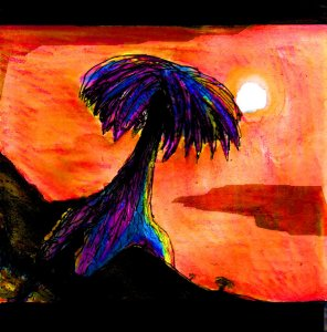 """""""Palms"""" By C. A. Brown"""
