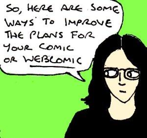 2017 Artwork Improving Comic Plans Article Sketch