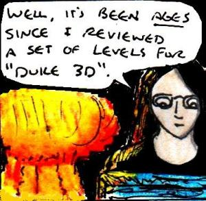 2017 Artwork Super Nukem Bros mini review