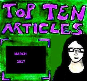 2017 Artwork Top Ten Articles March
