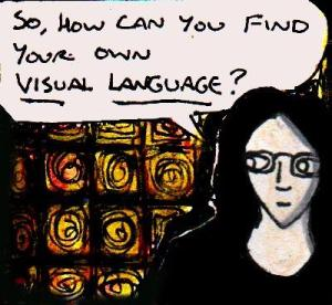 2017 Artwork Visual Language article sketch