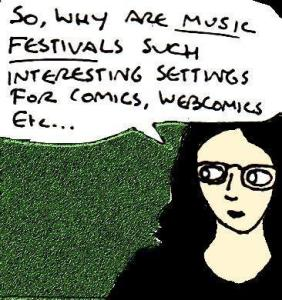 2017 Artwork Music festival comics article