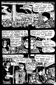 """""""Zombies Again! - Page 7"""" By C. A. Brown"""