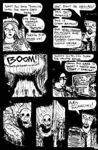 """Zombies Again! - Page 8"" By C. A. Brown"