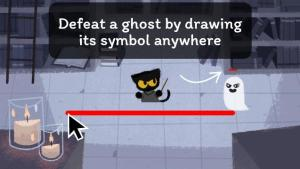 Yes, the game's controls actually reflect the main character's actions. THIS is good game design!