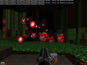 "Yes, you've probably seen something like this before in other ""Doom II"" WADs. But, keep reading, THIS time, it's different..."