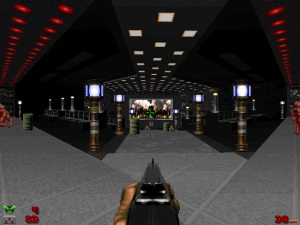"""I did NOT know that the standard """"Doom II"""" textures could look THIS cool!"""